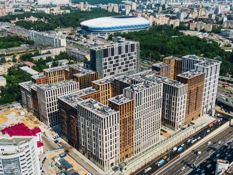 Продаётся 3-комнатная квартира в новостройке 96.0 кв.м. этаж 14/21 за 34 800 000 руб