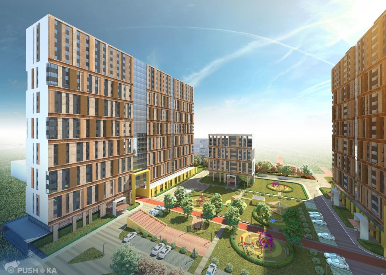 Продаётся 2-комнатная квартира в новостройке 62.5 кв.м. этаж 4/25 за 6 900 000 руб