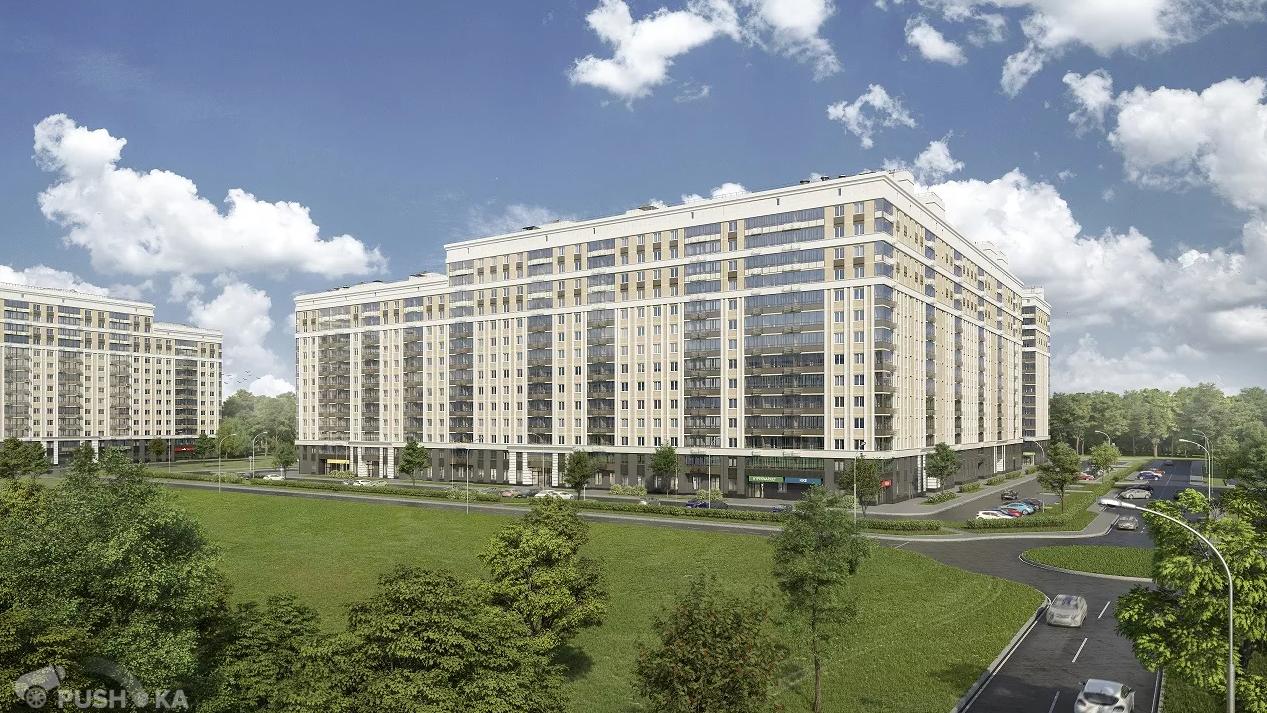 Продаётся 3-комнатная квартира в новостройке 56.0 кв.м. этаж 12/14 за 9 000 000 руб