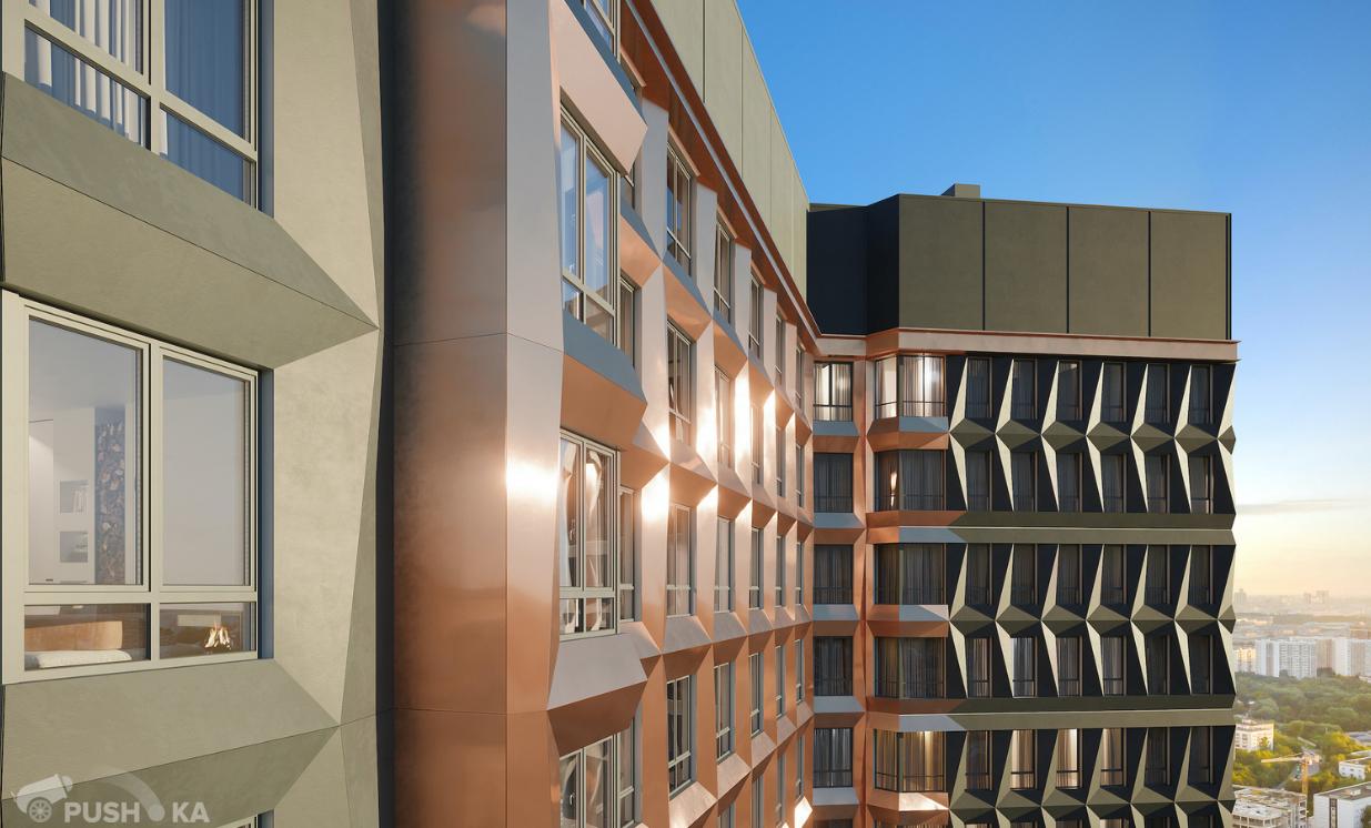 Продаётся 2-комнатная квартира в новостройке 50.0 кв.м. этаж 17/47 за 20 800 000 руб