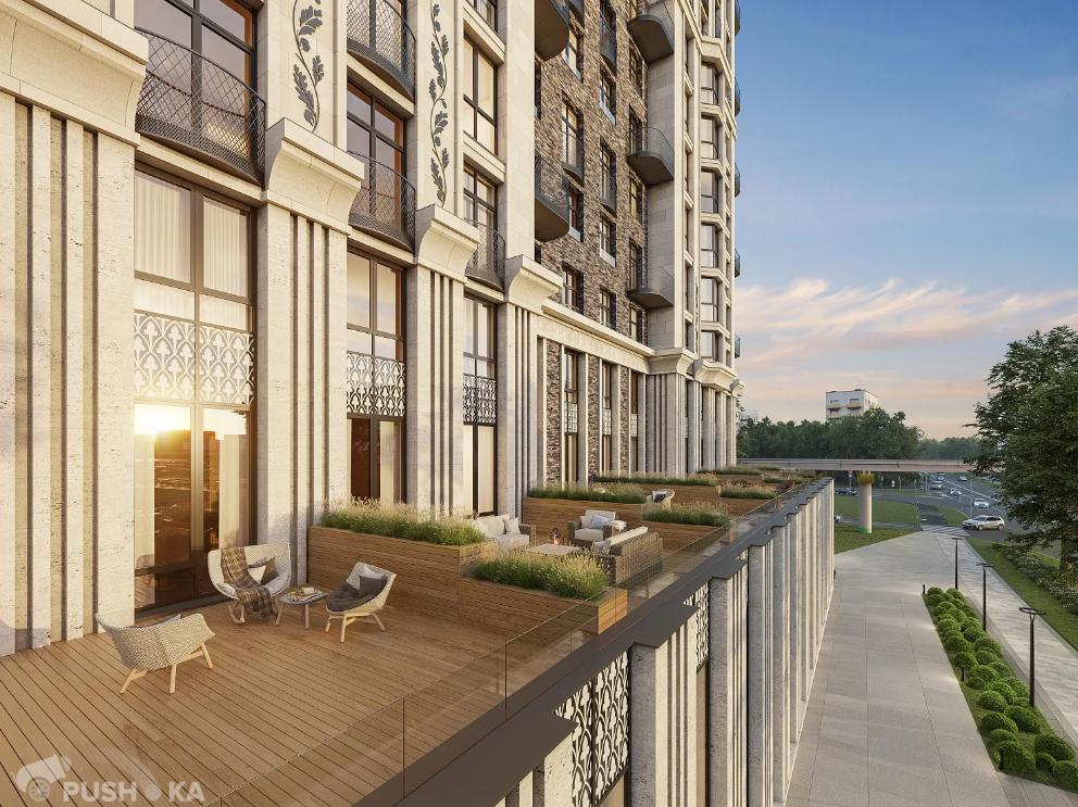 Продаётся 3-комнатная квартира в новостройке 74.0 кв.м. этаж 7/27 за 24 800 000 руб
