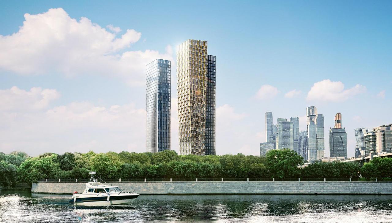 Продаётся 2-комнатная квартира в новостройке 55.0 кв.м. этаж 3/41 за 22 600 000 руб