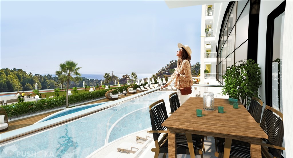 Продаётся 1-комнатная квартира в новостройке 42.0 кв.м. этаж 1/10 за 31 000 EUR