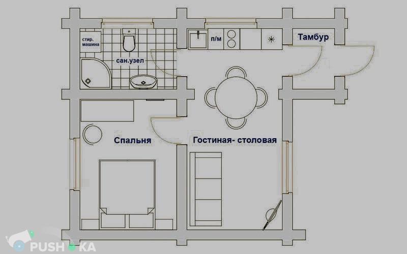 Сдаётся  дом/дача 50.0 кв.м.  за 6 000 руб