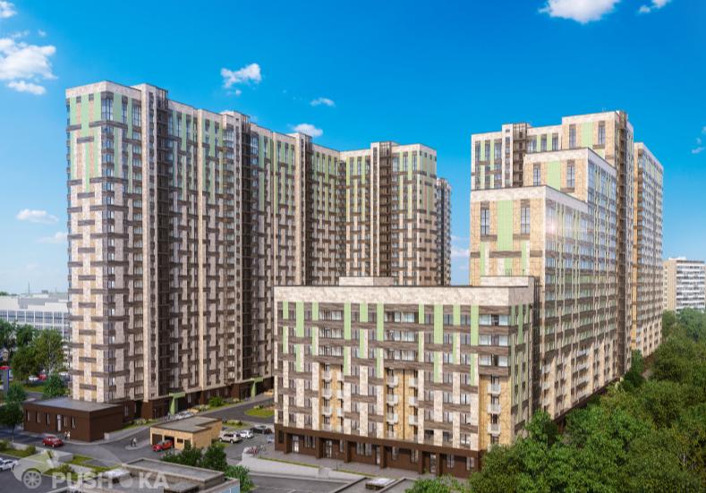 Продаётся 1-комнатная квартира в новостройке 35.0 кв.м. этаж 3/22 за 9 400 000 руб