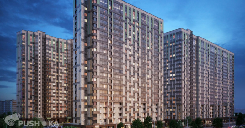 Продаётся 2-комнатная квартира в новостройке 58.0 кв.м. этаж 6/22 за 15 300 000 руб
