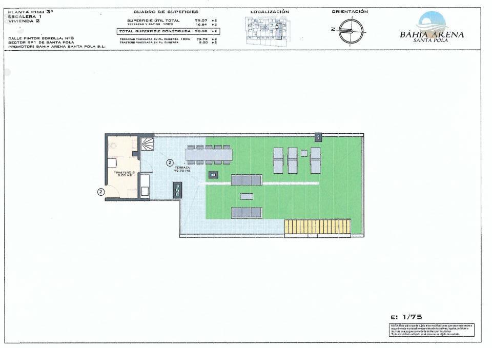 Продаётся 2-комнатная квартира в новостройке 90.5 кв.м. этаж 3/3 за 300 000 EUR