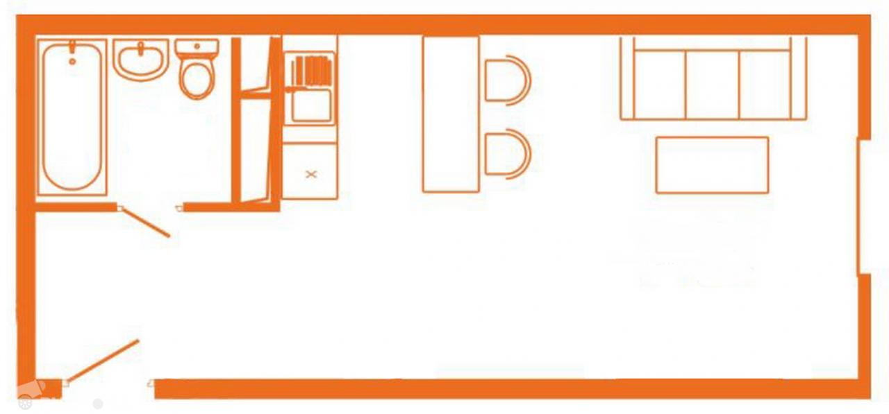 Продаётся  квартира-студия 31.5 кв.м. этаж 4/25 за 5 100 000 руб