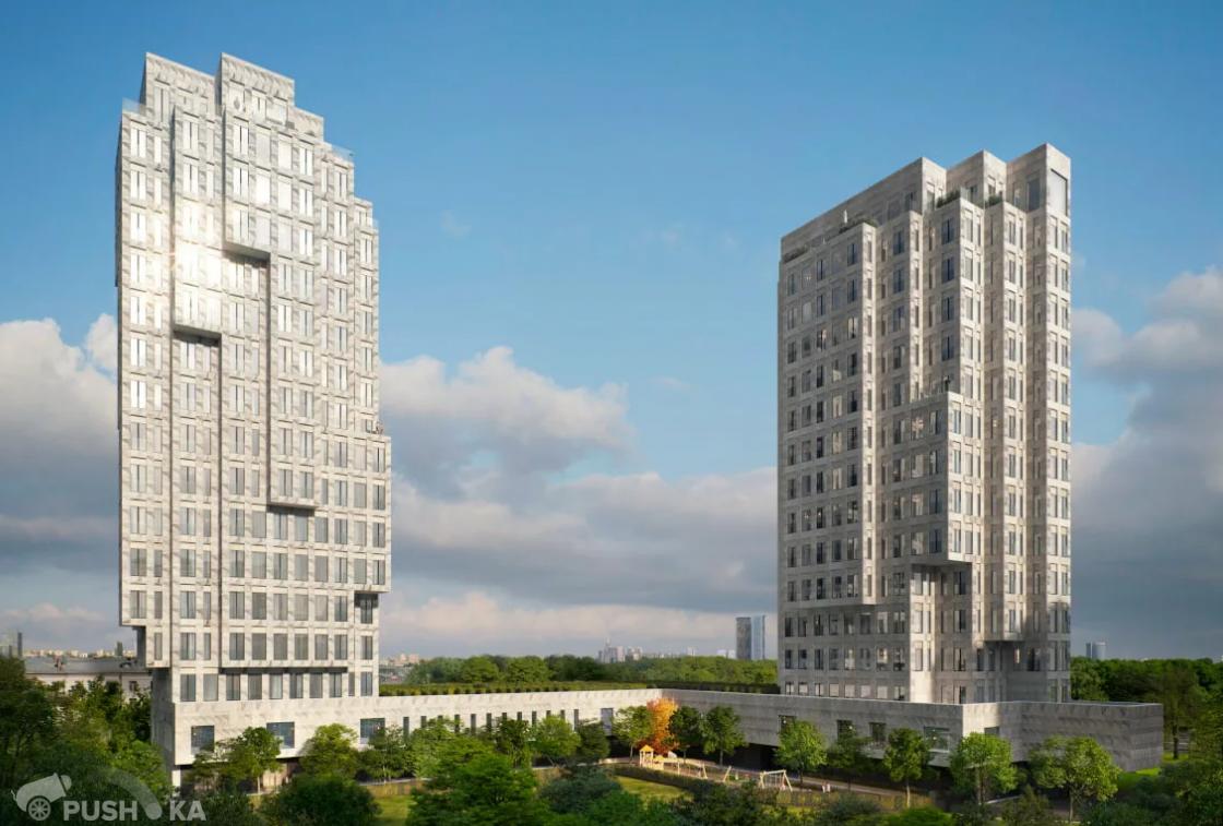 Продаётся 2-комнатная квартира в новостройке 77.0 кв.м. этаж 6/17 за 50 500 000 руб