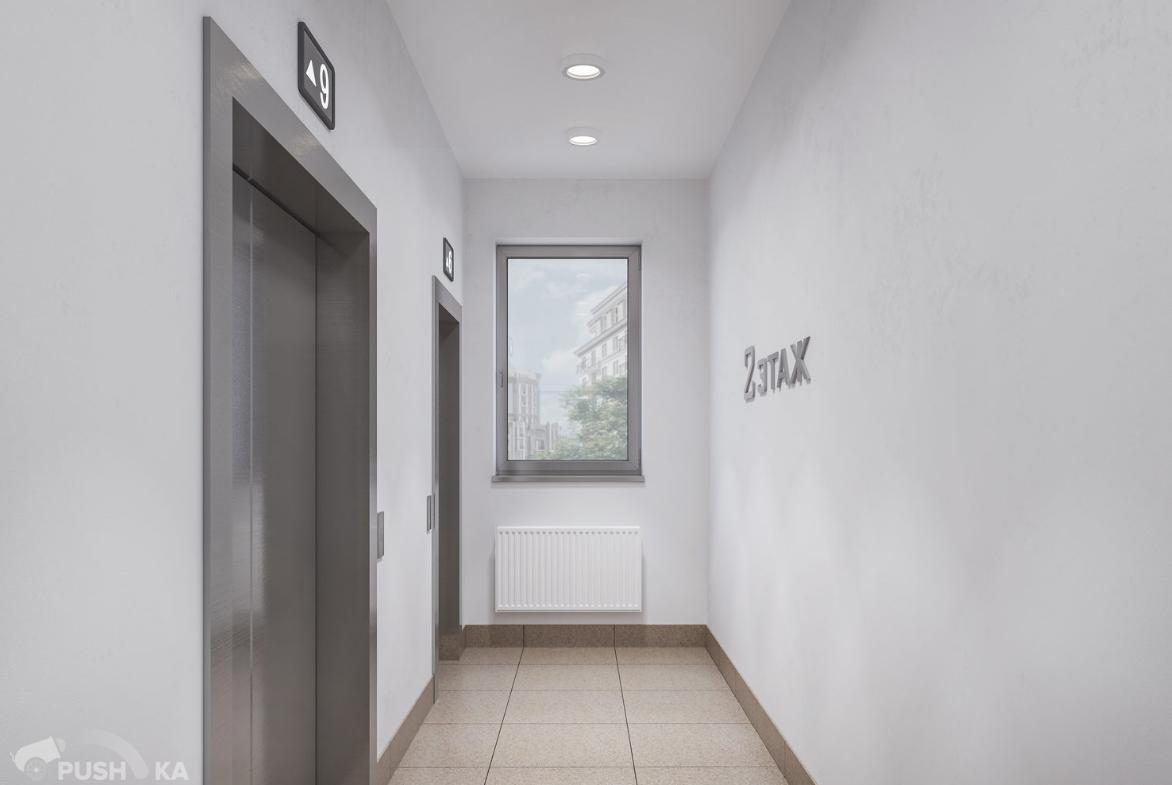 Продаётся 2-комнатная квартира в новостройке 55.0 кв.м. этаж 2/14 за 8 650 000 руб
