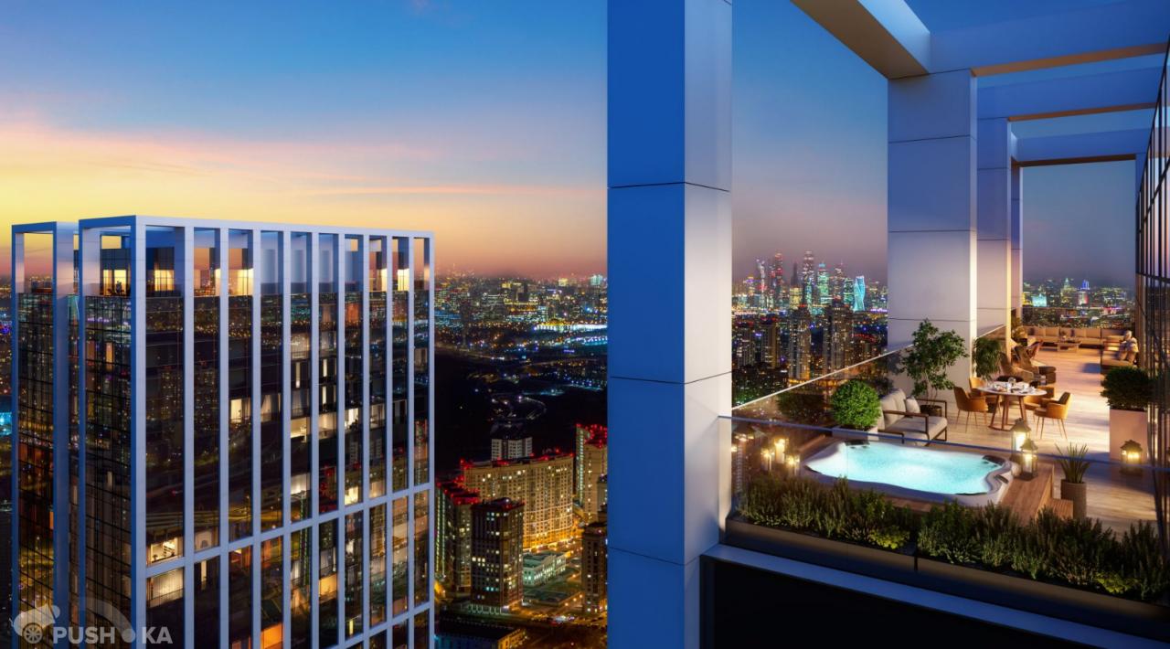 Продаётся 2-комнатная квартира 79.0 кв.м. этаж 14/52 за 26 000 000 руб