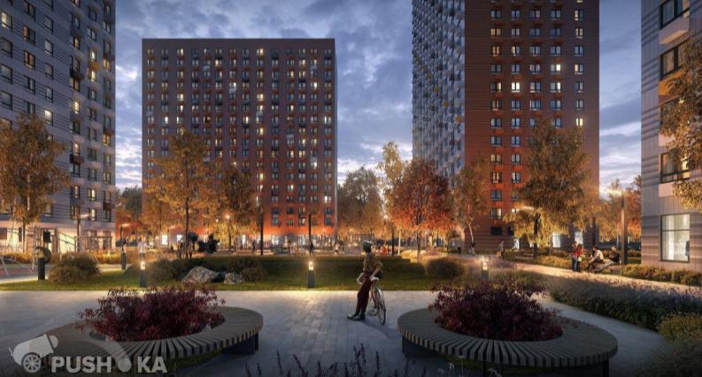 Продаётся 1-комнатная квартира в новостройке 40.0 кв.м. этаж 14/23 за 9 800 000 руб