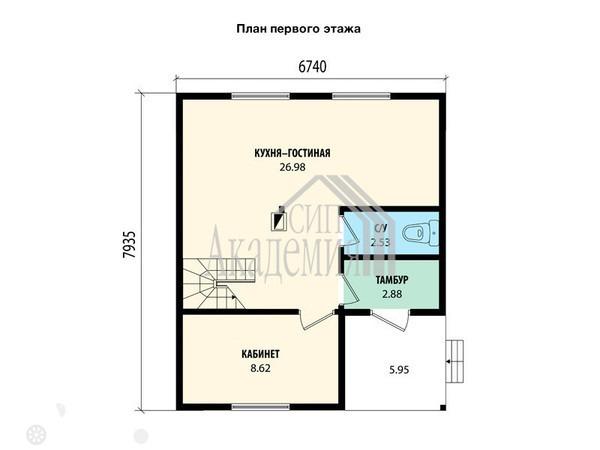 Продаётся  дом/дача 107.0 кв.м.  за 4 245 000 руб