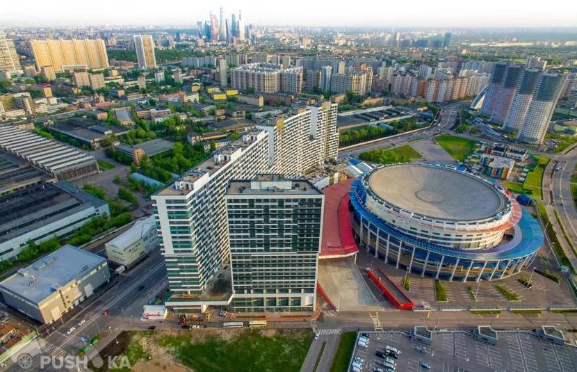 Продаётся 2-комнатная квартира 57.0 кв.м. этаж 6/23 за 17 600 000 руб