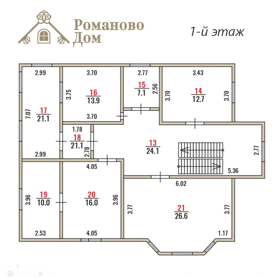 Продаётся  коттедж 400.0 кв.м.  за 19 000 000 руб