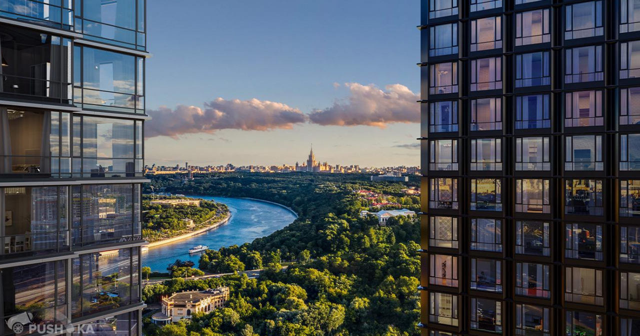 Продаётся 2-комнатная квартира в новостройке 50.0 кв.м. этаж 4/41 за 20 800 000 руб