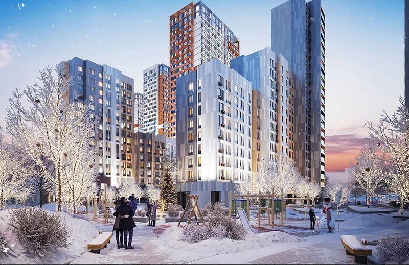 Продаётся 3-комнатная квартира в новостройке 74.4 кв.м. этаж 9/22 за 20 962 376 руб