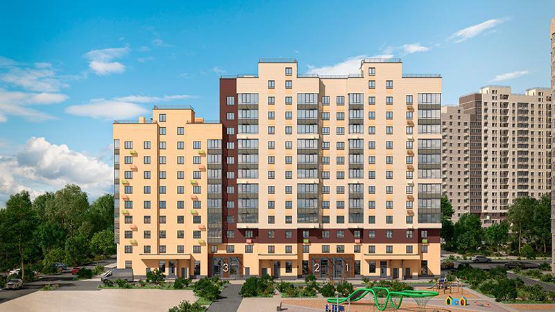 Продаётся 1-комнатная квартира в новостройке 29.3 кв.м. этаж 10/12 за 6 247 756 руб