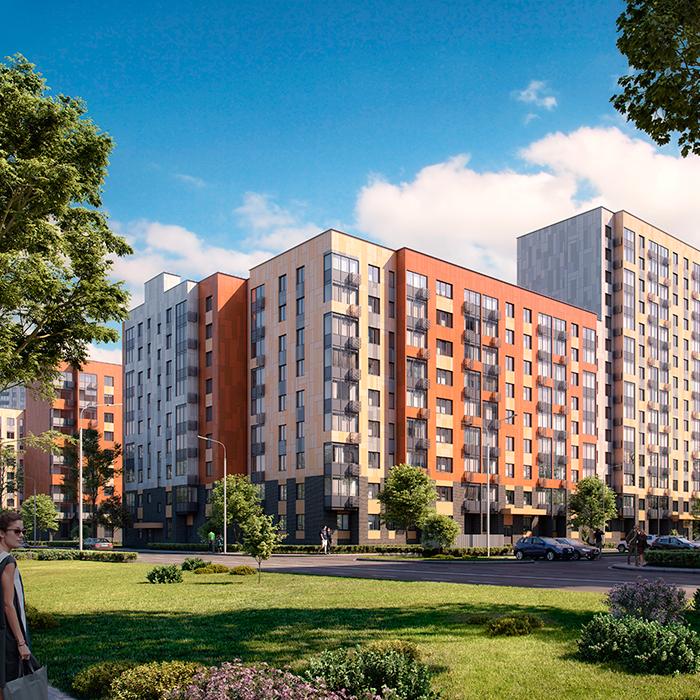 Продаётся 1-комнатная квартира в новостройке 34.3 кв.м. этаж 4/17 за 5 803 460 руб