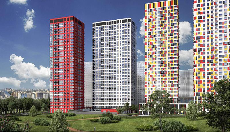 Продаётся 2-комнатная квартира в новостройке 53.7 кв.м. этаж 17/33 за 0 руб