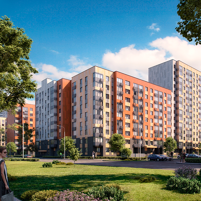 Продаётся 3-комнатная квартира в новостройке 68.8 кв.м. этаж 2/17 за 9 045 075 руб