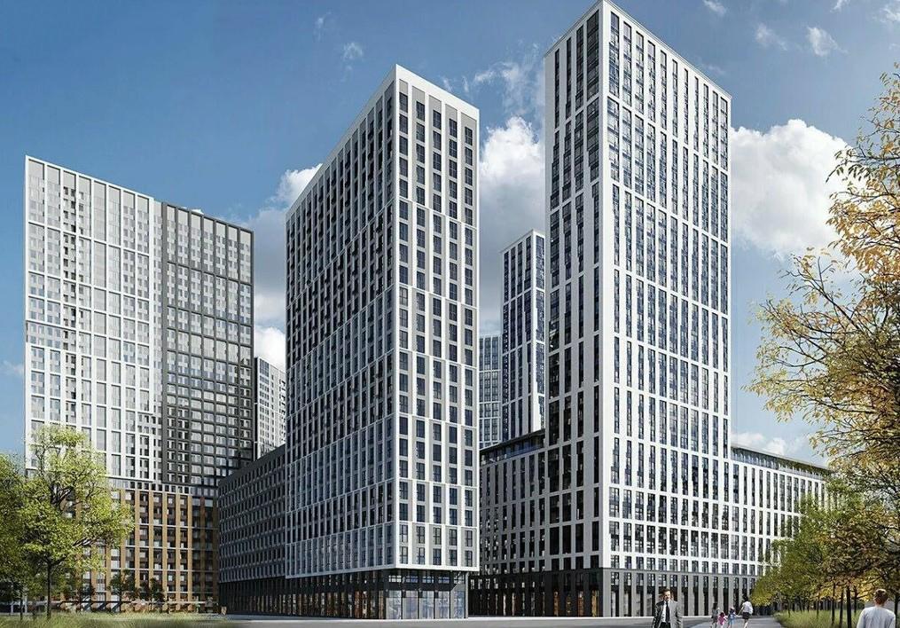 Продаётся 2-комнатная квартира в новостройке 69.0 кв.м. этаж 8/32 за 17 033 120 руб