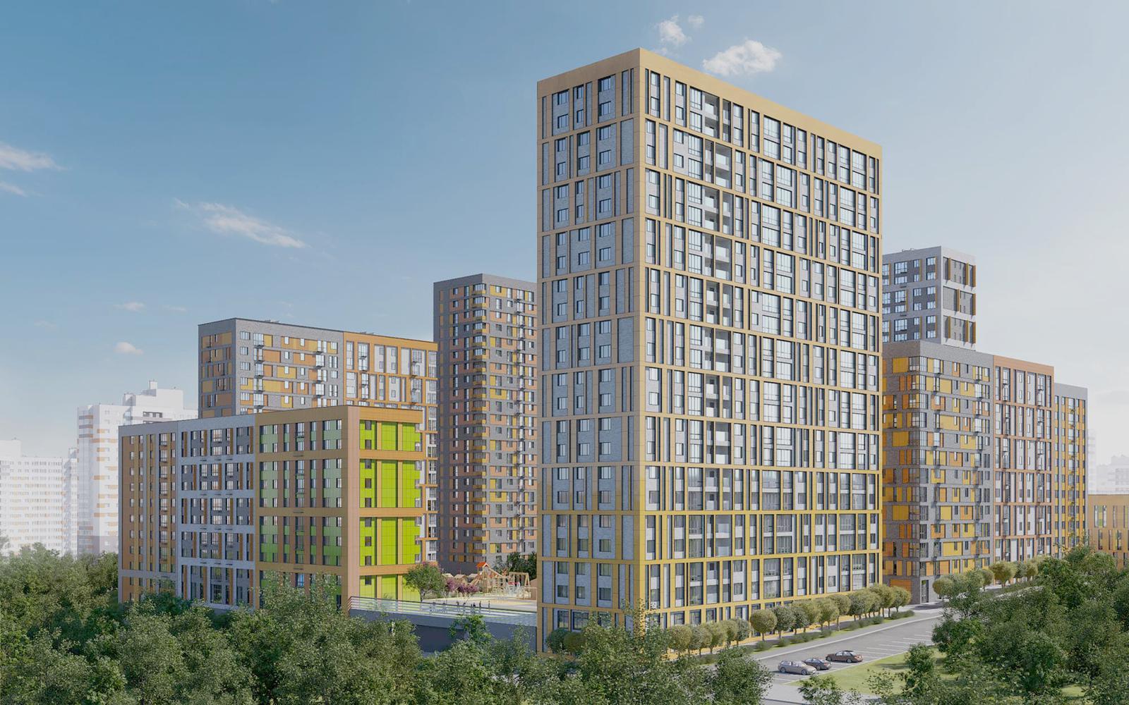 Продаётся 1-комнатная квартира в новостройке 41.9 кв.м. этаж 21/23 за 10 119 246 руб