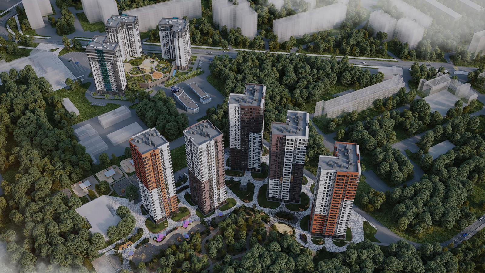 Продаётся 1-комнатная квартира в новостройке 32.6 кв.м. этаж 13/25 за 7 773 425 руб