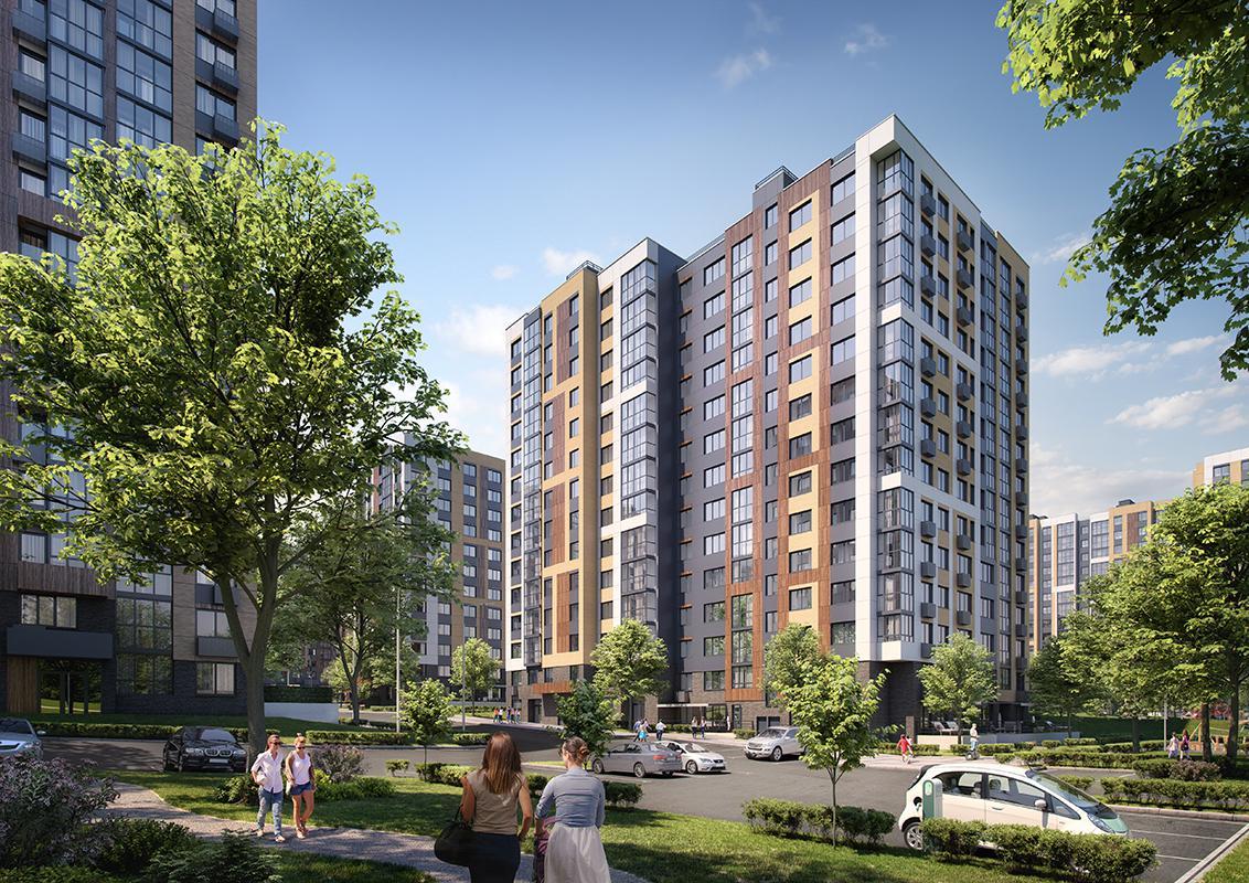 Продаётся 1-комнатная квартира в новостройке 30.5 кв.м. этаж 5/14 за 7 477 075 руб