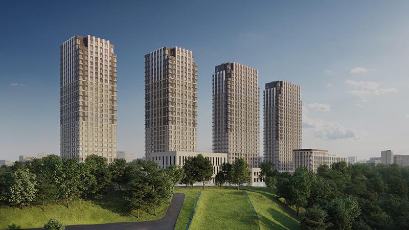 Продаётся 2-комнатная квартира в новостройке 48.1 кв.м. этаж 5/27 за 18 474 216 руб