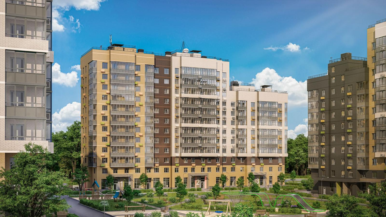 Продаётся 1-комнатная квартира в новостройке 29.3 кв.м. этаж 7/12 за 5 540 484 руб
