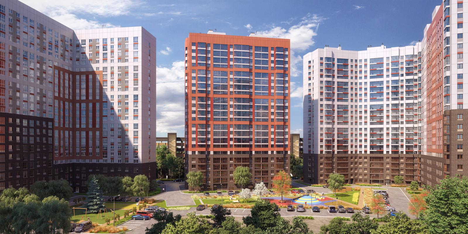 Продаётся 2-комнатная квартира в новостройке 35.5 кв.м. этаж 5/22 за 4 622 573 руб