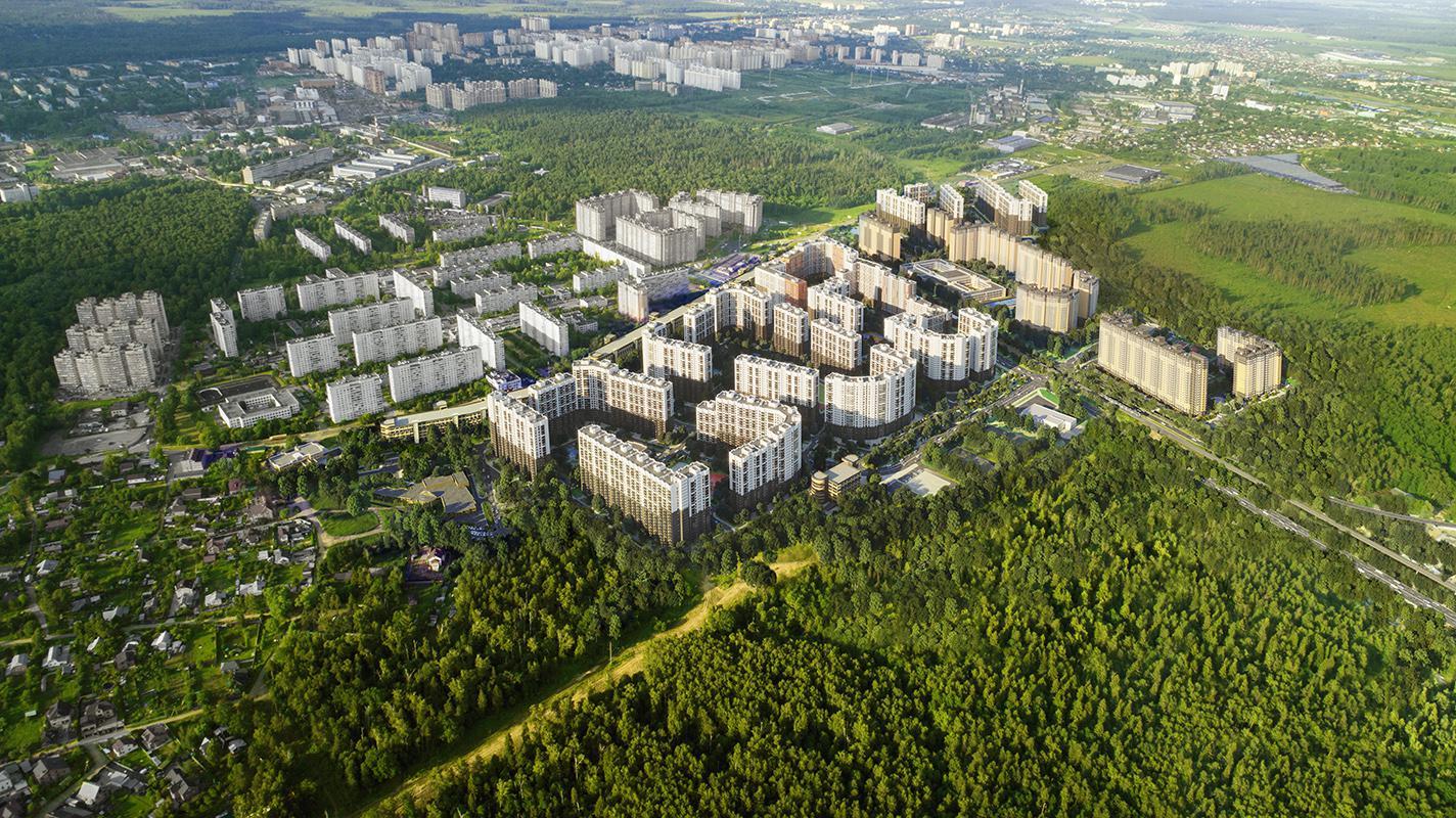 Продаётся 3-комнатная квартира в новостройке 61.2 кв.м. этаж 12/21 за 7 041 450 руб
