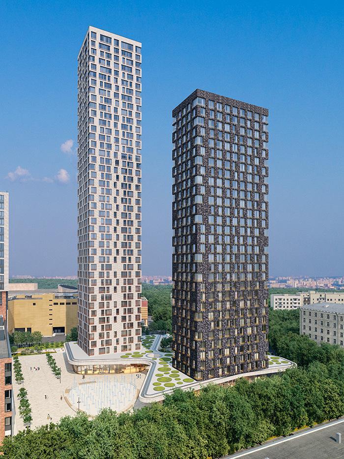 Продаётся 3-комнатная квартира в новостройке 99.6 кв.м. этаж 40/42 за 39 100 470 руб