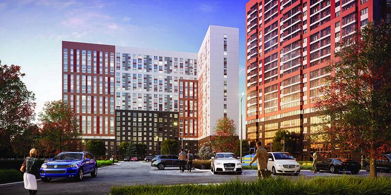 Продаётся 2-комнатная квартира в новостройке 44.1 кв.м. этаж 11/20 за 5 510 295 руб