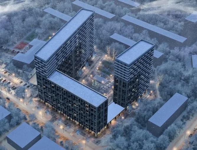 Продаётся 2-комнатная квартира в новостройке 77.2 кв.м. этаж 14/19 за 14 886 784 руб