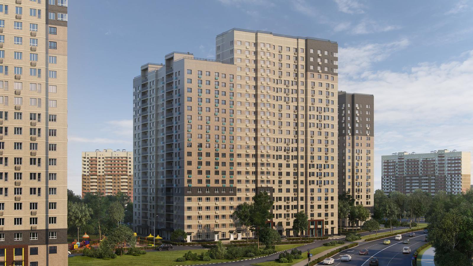 Продаётся 2-комнатная квартира в новостройке 56.9 кв.м. этаж 14/23 за 7 732 539 руб