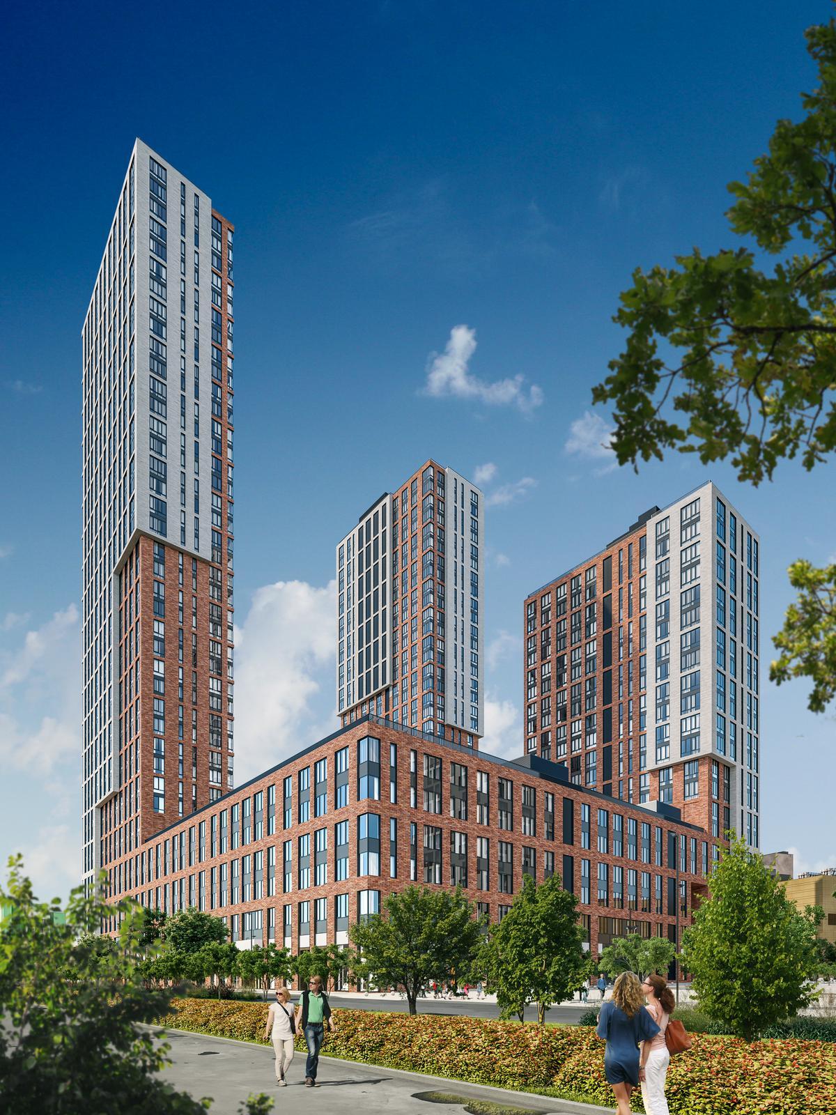 Продаётся 2-комнатная квартира в новостройке 67.4 кв.м. этаж 28/41 за 25 193 794 руб