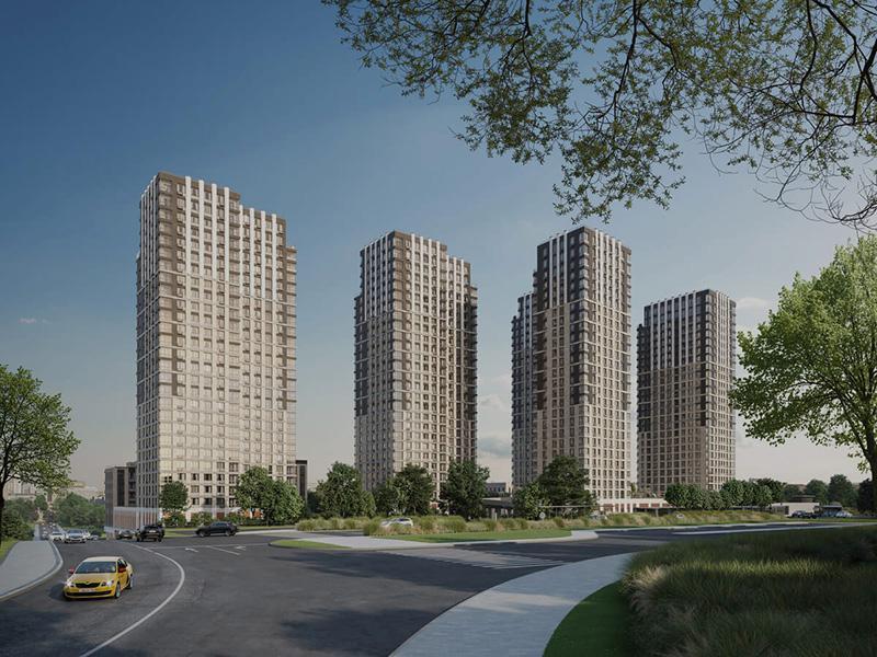 Продаётся 3-комнатная квартира в новостройке 88.6 кв.м. этаж 5/27 за 26 935 277 руб