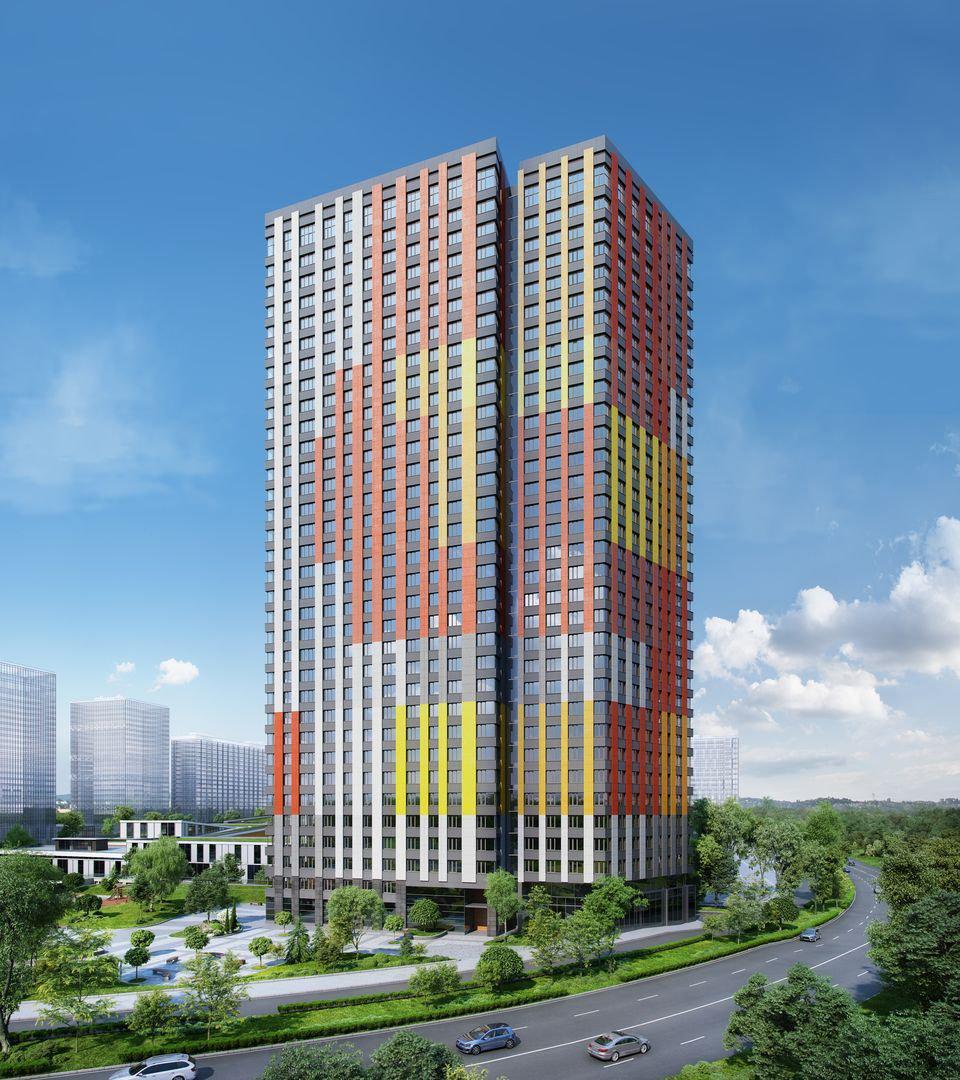 Продаётся 2-комнатная квартира в новостройке 62.7 кв.м. этаж 33/33 за 8 307 708 руб