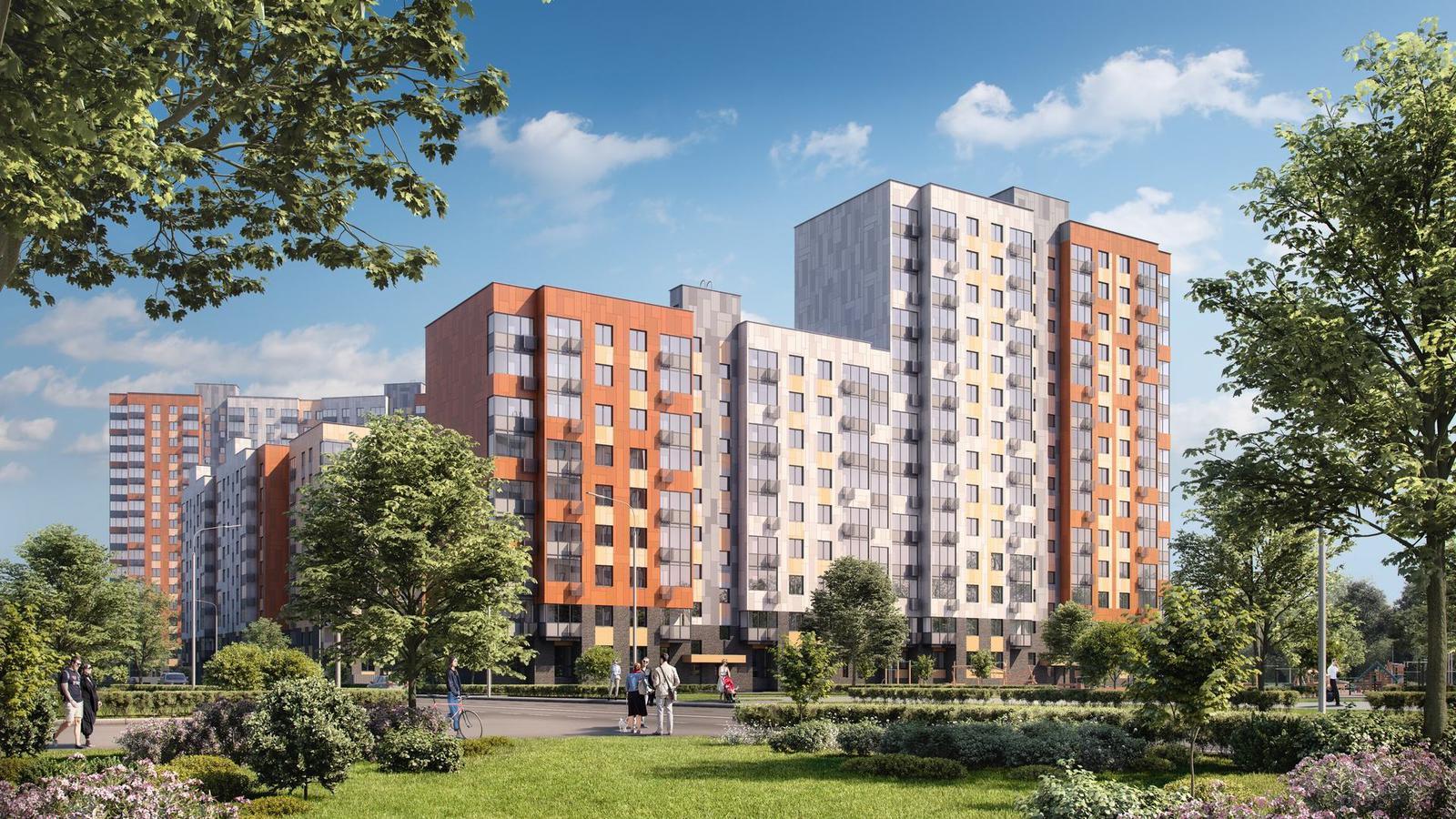 Продаётся 2-комнатная квартира в новостройке 60.6 кв.м. этаж 2/14 за 11 444 310 руб