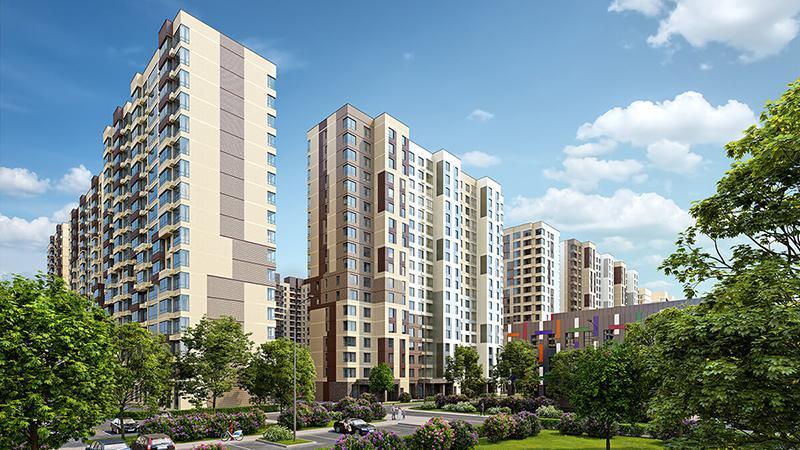 Продаётся 2-комнатная квартира в новостройке 54.4 кв.м. этаж 7/18 за 9 158 836 руб
