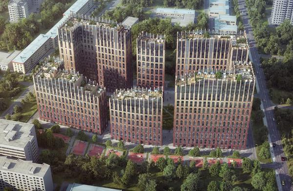 Продаётся 4-комнатная квартира в новостройке 142.9 кв.м. этаж 12/20 за 61 826 965 руб