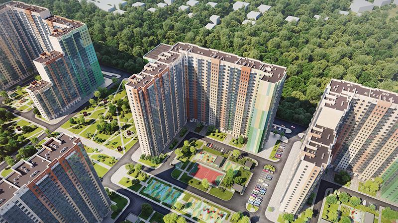 Продаётся 3-комнатная квартира в новостройке 70.1 кв.м. этаж 23/25 за 9 437 253 руб