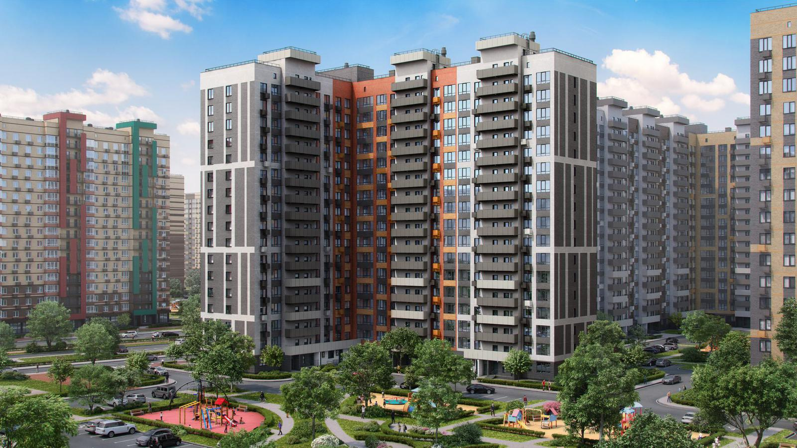 Продаётся 2-комнатная квартира в новостройке 61.8 кв.м. этаж 16/17 за 6 670 198 руб
