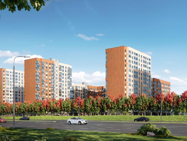 Продаётся 1-комнатная квартира в новостройке 33.1 кв.м. этаж 3/17 за 5 718 097 руб
