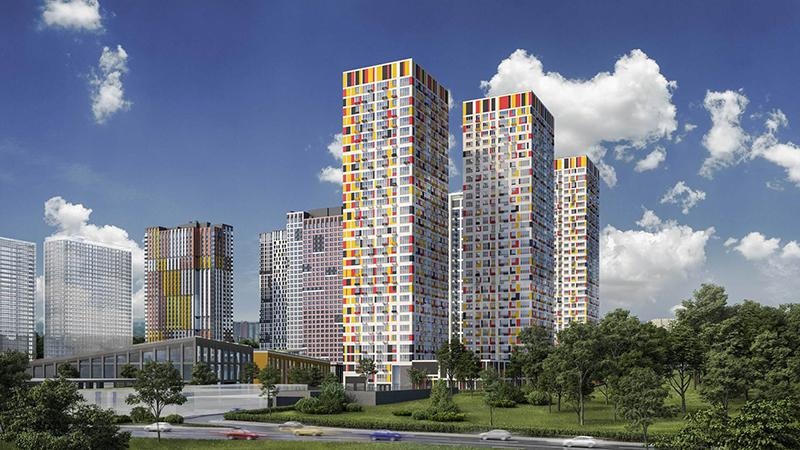 Продаётся 2-комнатная квартира в новостройке 50.4 кв.м. этаж 30/32 за 10 179 238 руб