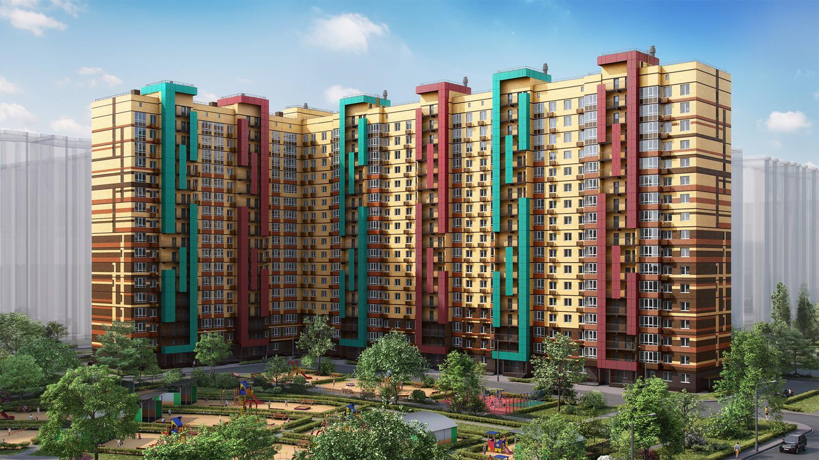 Продаётся 2-комнатная квартира в новостройке 57.1 кв.м. этаж 13/17 за 5 186 073 руб