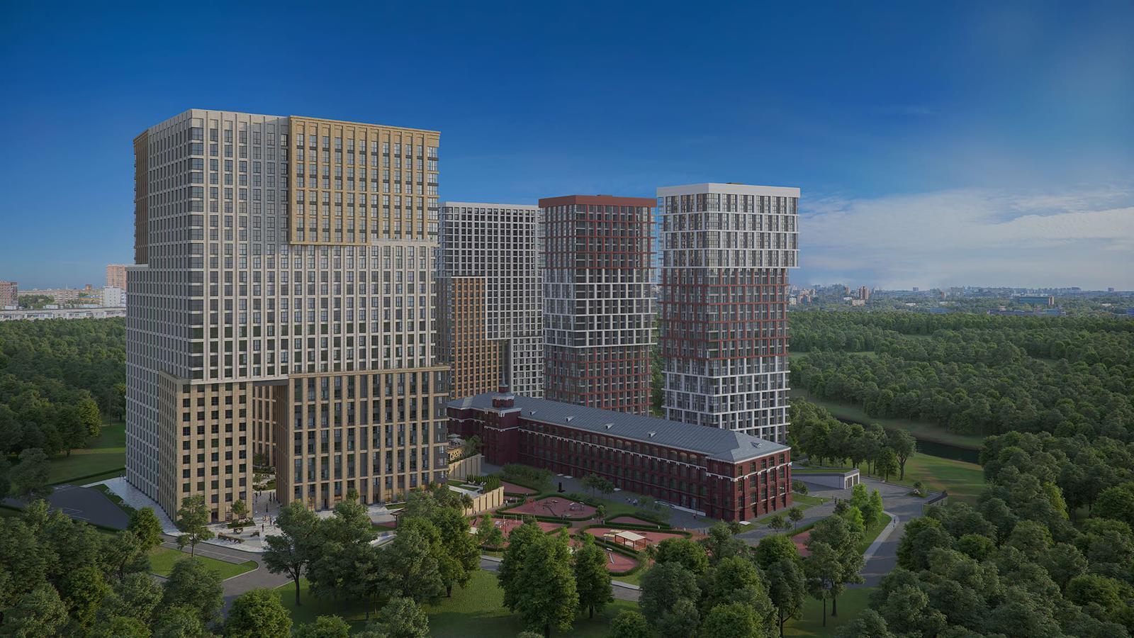 Продаётся 3-комнатная квартира в новостройке 94.0 кв.м. этаж 15/29 за 27 035 213 руб