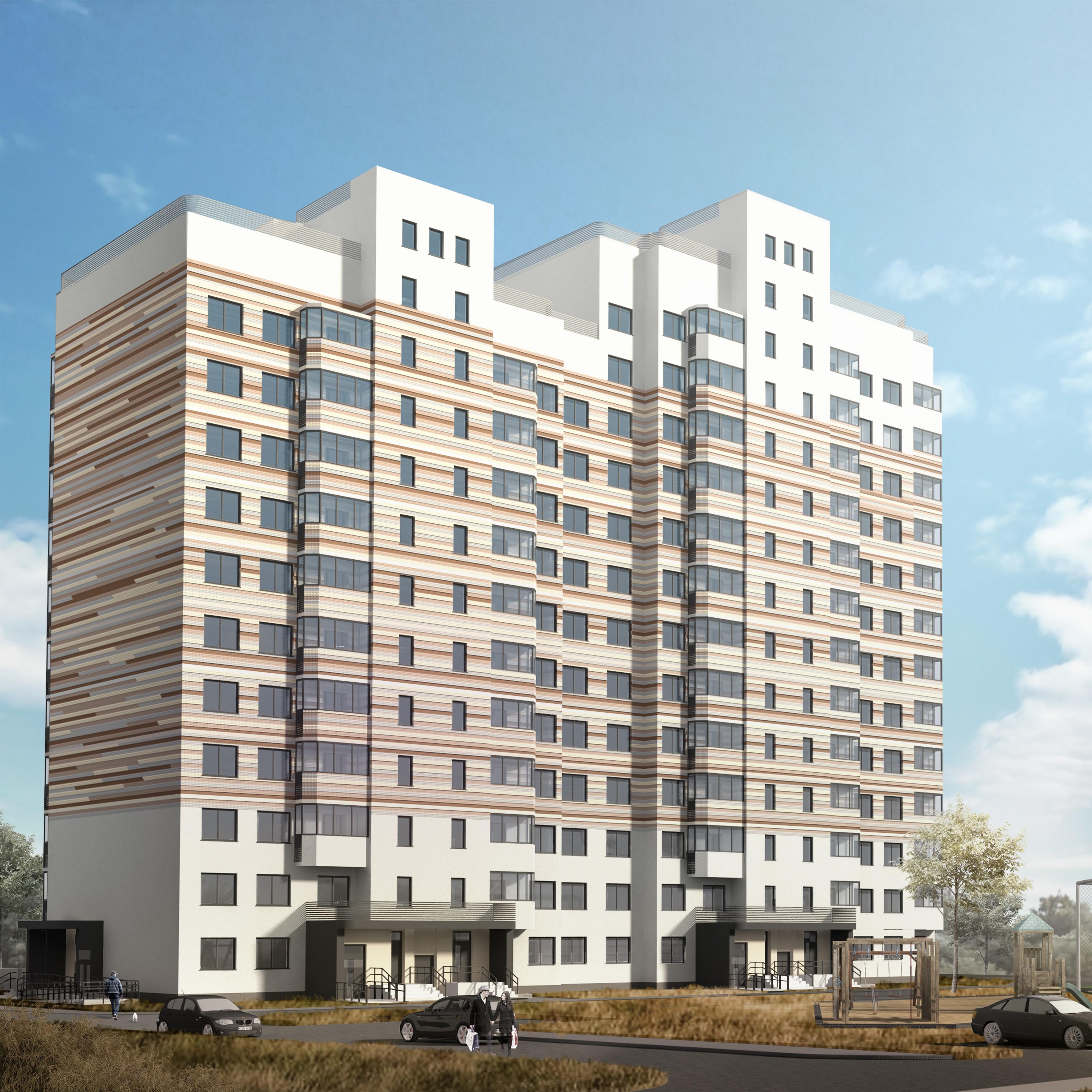 Продаётся 1-комнатная квартира в новостройке 34.4 кв.м. этаж 7/13 за 2 683 200 руб